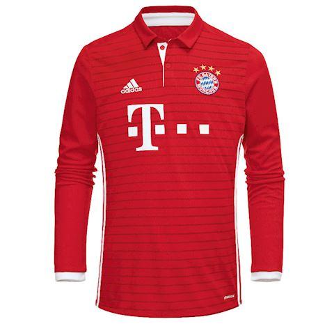 adidas Bayern Munich Mens LS Home Shirt 2016/17