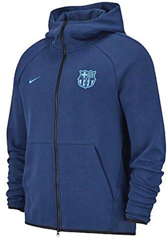 Nike FC Barcelona Tech Fleece Men's Hoodie - Blue Image