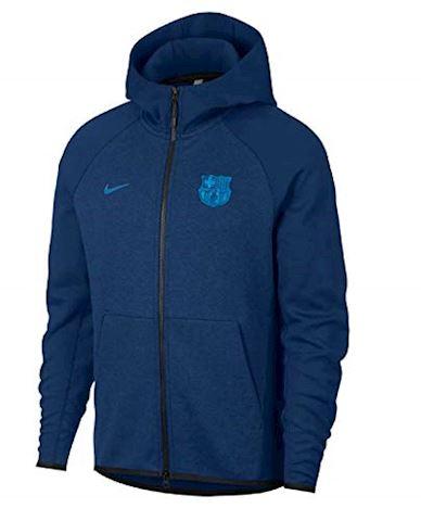 Nike FC Barcelona Tech Fleece Men's Hoodie - Blue Image 2
