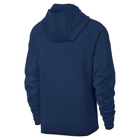 Nike FC Barcelona Tech Fleece Men's Hoodie - Blue Image 2