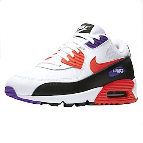 Nike Air Max 90 Essential WhiteRed Orbit Psychic Purple Black scarpe