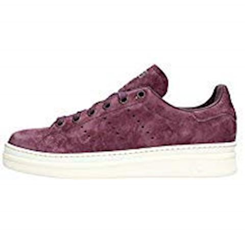 adidas  STAN SMITH NEW BOLD W  women's Shoes (Trainers) in Purple Image