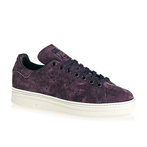 adidas  STAN SMITH NEW BOLD W  women's Shoes (Trainers) in Purple Image 4