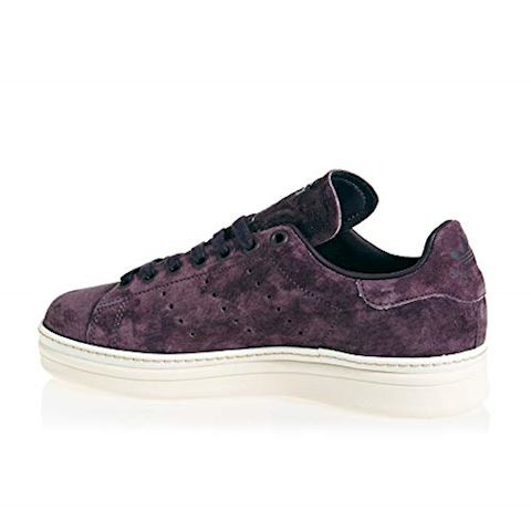 adidas  STAN SMITH NEW BOLD W  women's Shoes (Trainers) in Purple Image 5