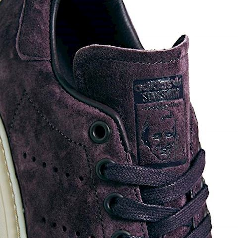 adidas  STAN SMITH NEW BOLD W  women's Shoes (Trainers) in Purple Image 9
