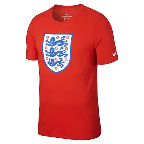 Nike England Crest Men's T-Shirt - Red Image