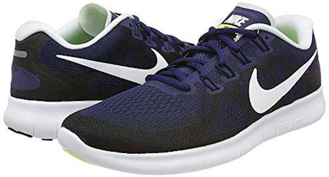 Nike Free RN 2017 Men's Running Shoe - Blue Image 12