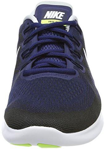 Nike Free RN 2017 Men's Running Shoe - Blue Image 4