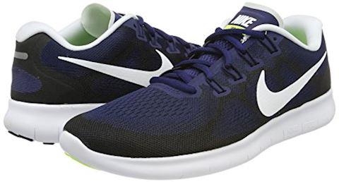 Nike Free RN 2017 Men's Running Shoe - Blue Image 5