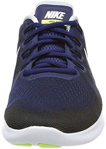 Nike Free RN 2017 Men's Running Shoe - Blue Image 9