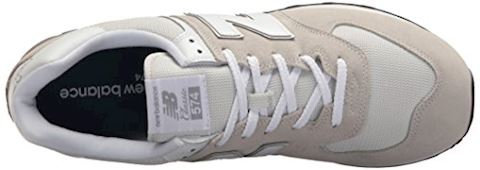 New Balance  ML574  men's Shoes (Trainers) in White Image 11