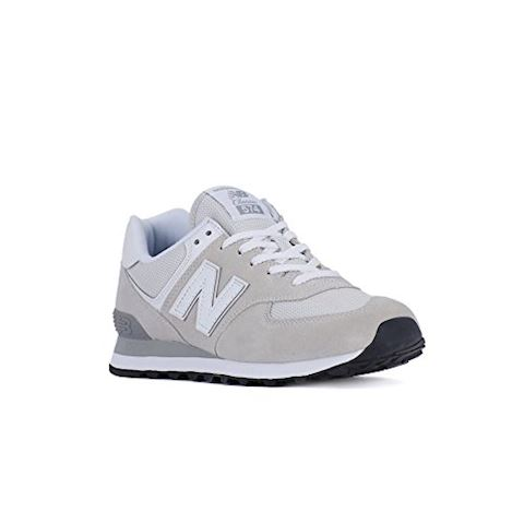 New Balance  ML574  men's Shoes (Trainers) in White Image 2