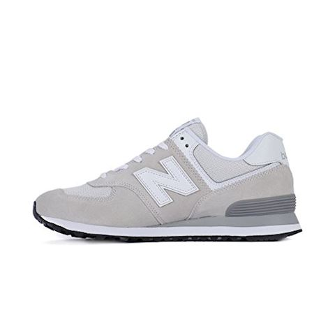 New Balance  ML574  men's Shoes (Trainers) in White Image 3