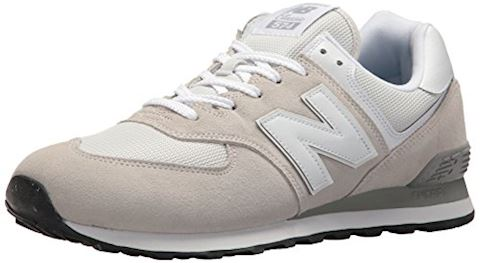 New Balance  ML574  men's Shoes (Trainers) in White Image 4