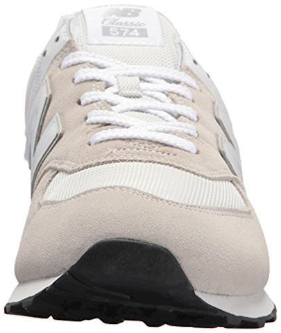 New Balance  ML574  men's Shoes (Trainers) in White Image 7