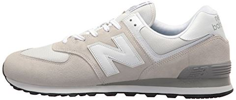 New Balance  ML574  men's Shoes (Trainers) in White Image 8