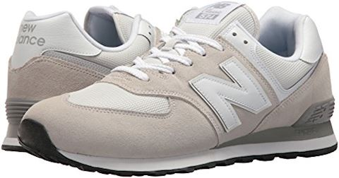 New Balance  ML574  men's Shoes (Trainers) in White Image 9