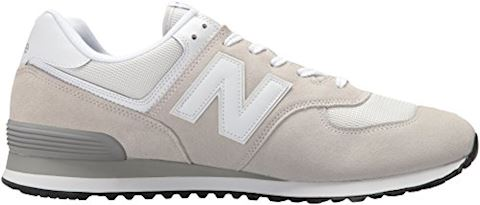 New Balance  ML574  men's Shoes (Trainers) in White Image 10