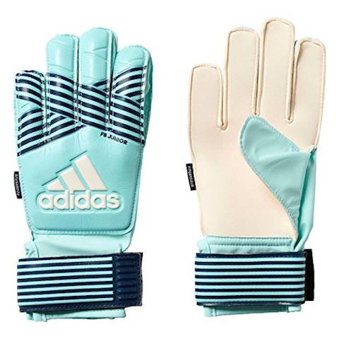 adidas Goalkeeper Gloves ACE Fingersave Junior Ocean Storm - Energy Aqua/Energy Blue/Legend Ink Kids