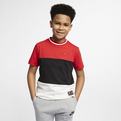 Nike Air Older Kids' (Boys') Short-Sleeve Top - Red Image