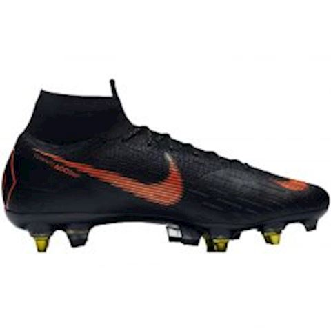 low priced 39cb1 3943b Nike Mercurial Superfly 360 Elite SG-PRO Anti-Clog Soft-Ground Football  Boot - Black