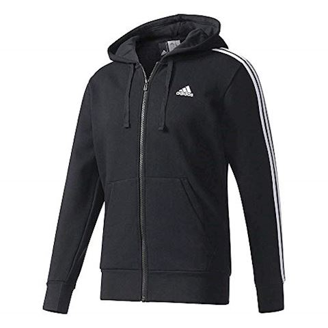 adidas Essentials 3-Stripes Fleece Hoodie Image