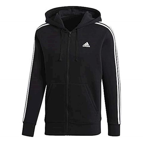 adidas Essentials 3-Stripes Fleece Hoodie Image 2