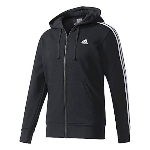 adidas Essentials 3-Stripes Fleece Hoodie Image 3