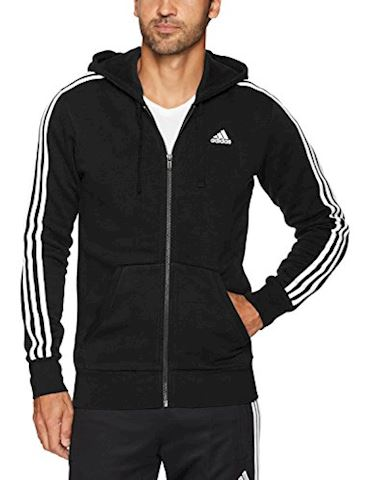 adidas Essentials 3-Stripes Fleece Hoodie Image 5