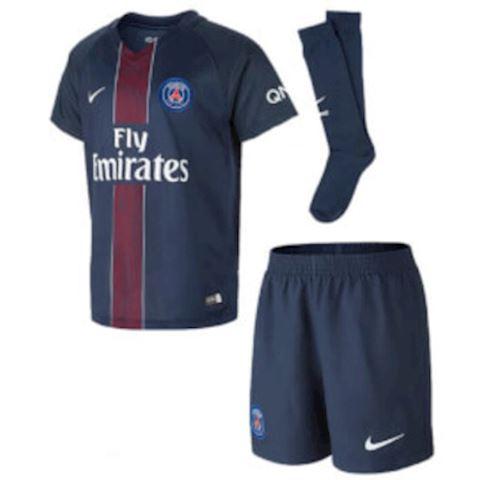 Nike Paris Saint Germain Kids SS Home Mini Kit 2016/17 Image