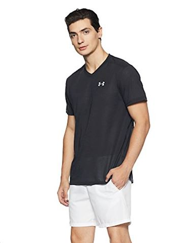 Under Armour Men's Threadborne Streaker Run V-Neck T-Shirt Image