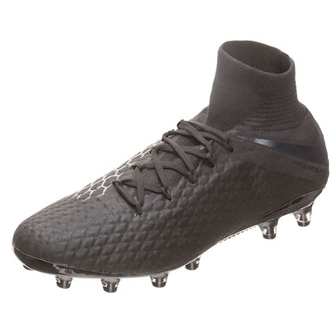 Nike Hypervenom III DF AG-PRO Artificial-Grass Football Boot - Black Image