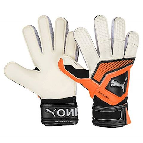 PUMA Goalkeeper Gloves One Grip 1 RC Uprising Pack - PUMA White/Shocking Orange/PUMA Black Image
