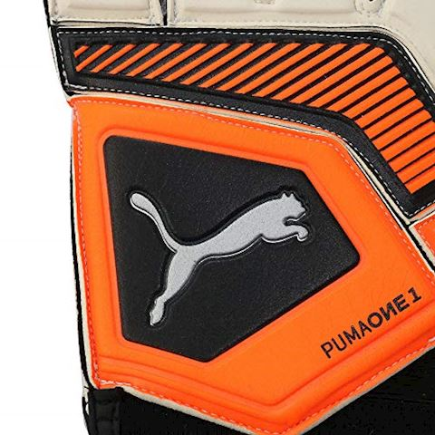 PUMA Goalkeeper Gloves One Grip 1 RC Uprising Pack - PUMA White/Shocking Orange/PUMA Black Image 2