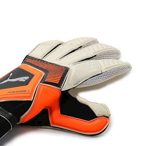 PUMA Goalkeeper Gloves One Grip 1 RC Uprising Pack - PUMA White/Shocking Orange/PUMA Black Image 4