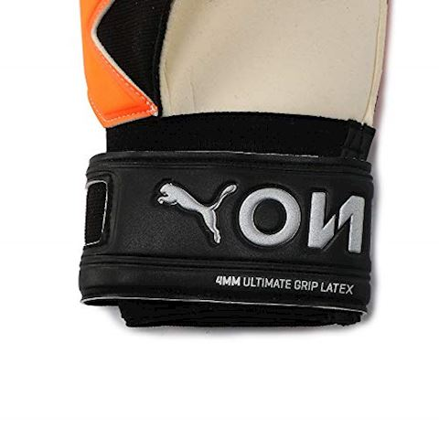 PUMA Goalkeeper Gloves One Grip 1 RC Uprising Pack - PUMA White/Shocking Orange/PUMA Black Image 6