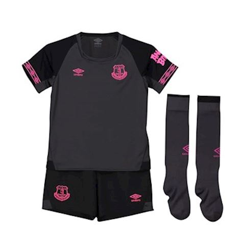 Umbro Everton Kids SS Away Mini Kit 2018/19 Image
