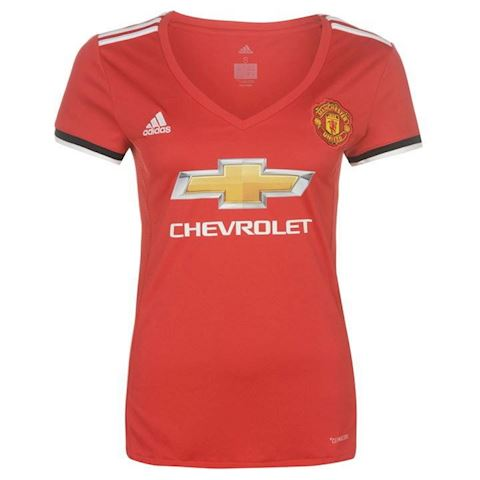 adidas Manchester United Womens SS Home Shirt 2017/18 Image