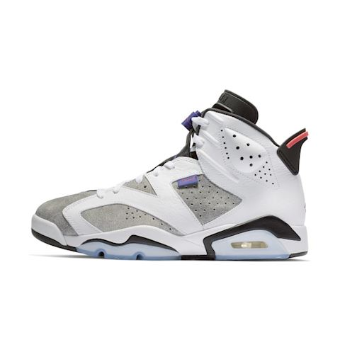 Nike Air Jordan 6 Retro Men's Shoe - White Image