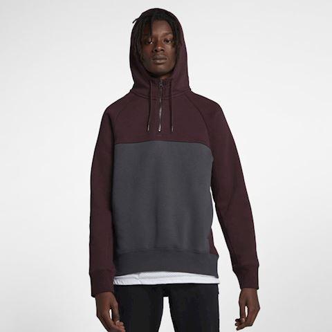 Nike SB Icon Men's 1/2-Zip Skateboarding Hoodie - Black Image