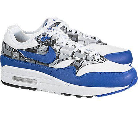 Nike Air Max 1 Print Blue Image 2