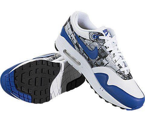 Nike Air Max 1 Print Blue Image 3