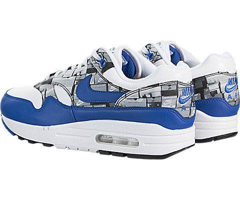 Nike Air Max 1 Print Blue Image 4