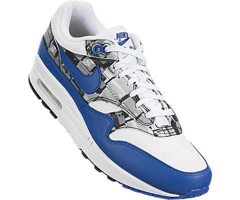 Nike Air Max 1 Print Blue Image 5