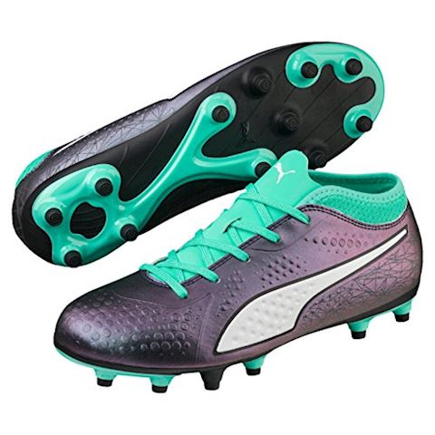 PUMA One 4 SYN FG Illuminate Pack - Color Shift/Biscay Green Kids Image
