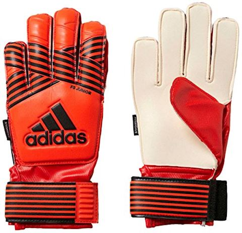 adidas Goalkeeper Gloves ACE Fingersave Junior Pyro Storm - Solar Red/Solar Orange/Solar Gold Kids Image