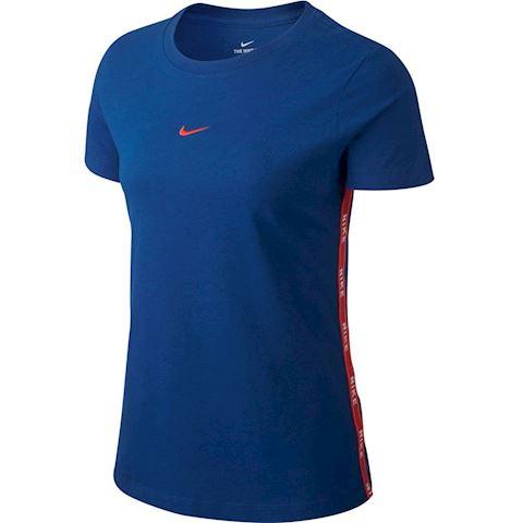 Nike Sportswear Women's Logo T-Shirt - Blue Image