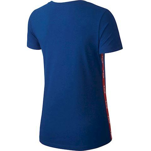 Nike Sportswear Women's Logo T-Shirt - Blue Image 2