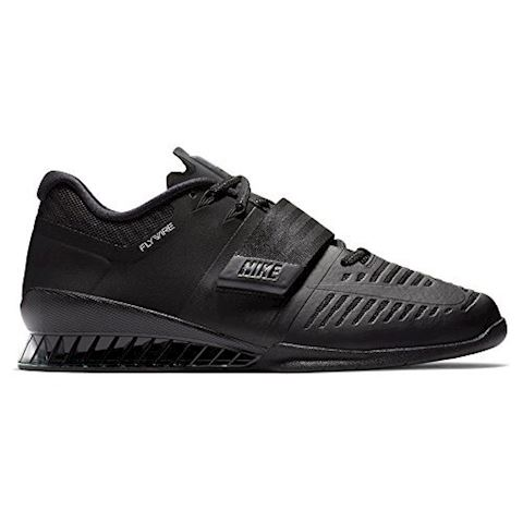 Nike Romaleos 3 Weightlifting/Powerlifting Shoe - Black Image 7