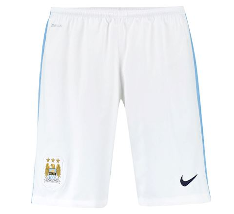 Nike Manchester City Kids Home Shorts 2015/16 Image